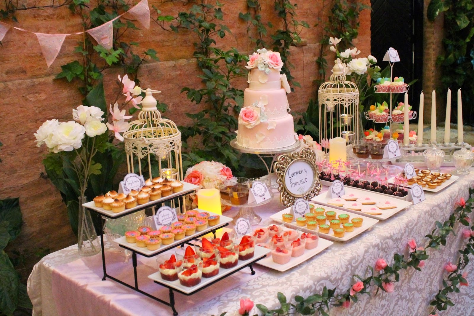 Presentaci n de mesas dulces - Mesas de decoracion ...
